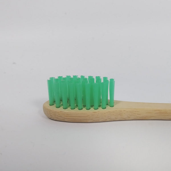 4 Bamboo toothbrushes pack - Biodegradable
