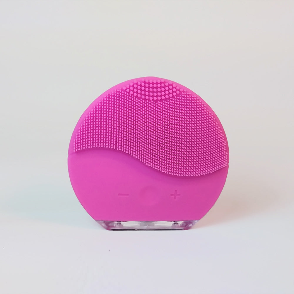 Facial cleansing brush and massage USB - Bubble Gum