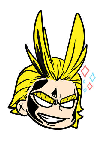 All might Sparkles of Justice
