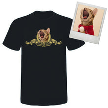 Load image into Gallery viewer, Custom Pet Face Metro Goldwyn Mayer t shirt