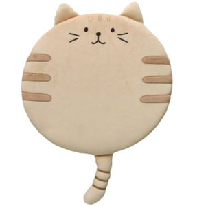 Cat Shaped Round Foam Chairpad/Seat Cushion