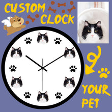 Load image into Gallery viewer, Custom Pet Clock