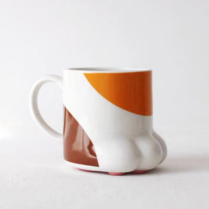 Cat Foot Shaped Cat Paw Ceramic Mug