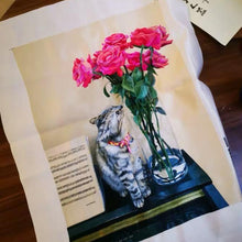 Load image into Gallery viewer, Custom Pet Embroidery Portrait