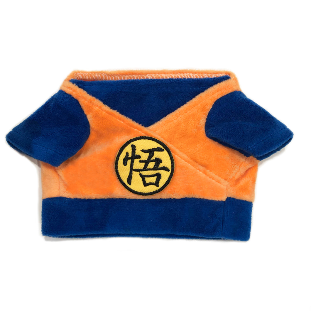 Dragon Ball Z Son Goku Pet Costume For Small Pets