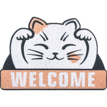 Load image into Gallery viewer, Welcome Cat Doormat