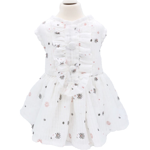 Daisy Lace Dress For Pets