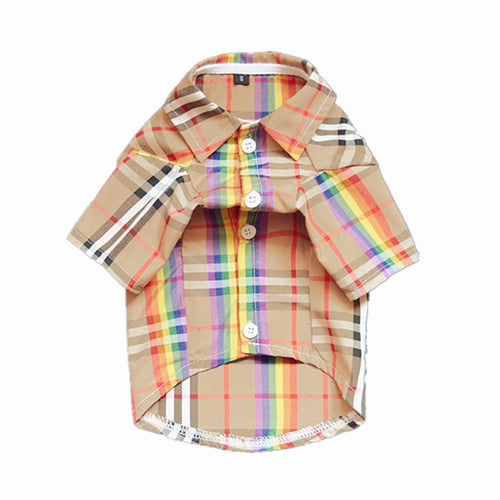 Plaid Rainbow Shirt
