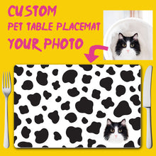 Load image into Gallery viewer, Custom Pet Table Placemat