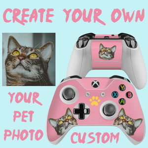 Custom Pet Xbox One Controller Skin