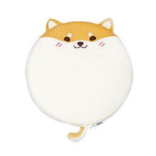Load image into Gallery viewer, Shiba Inu / Husky Dog Shaped Round Foam Chairpad/Seat Cushion