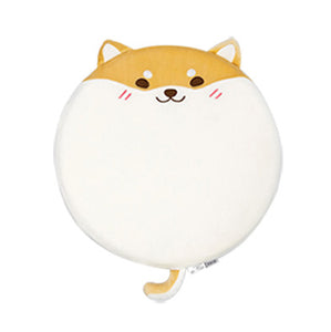 Shiba Inu / Husky Dog Shaped Round Foam Chairpad/Seat Cushion