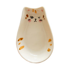 Load image into Gallery viewer, Cat Shaped Side, Dessert & Canape Plates