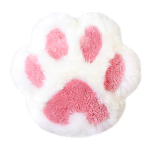 Cat Paw Plush Wool Pillow