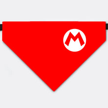 Load image into Gallery viewer, Super Mario Bros Pet Bandana Collar