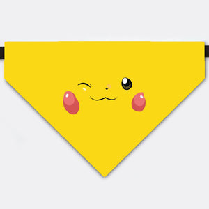 Pokemon Pikachu Costume Pet Bandana Collar