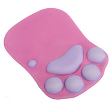 Load image into Gallery viewer, Cat Paw Mouse Pad Wrist Support Soft Gel