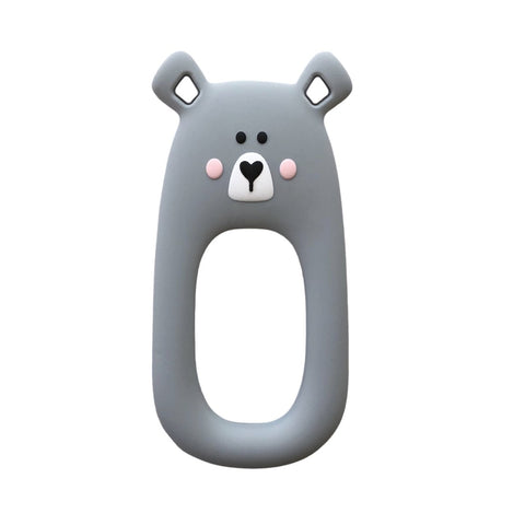 Grey Bear Teether
