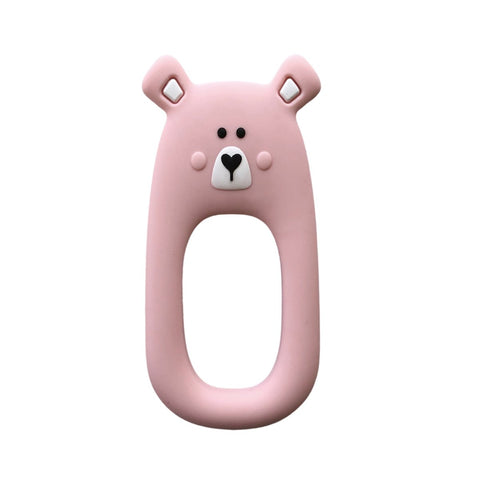Pink Bear Teether