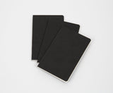 Blackwing Set of 3 Mini Notebooks in Black