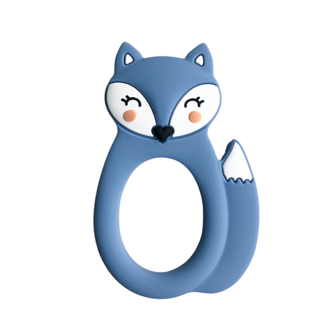 Blue Fox Teether