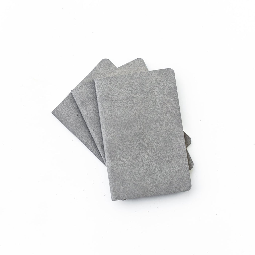 Blackwing Set of 3 Mini Notebooks in Gray