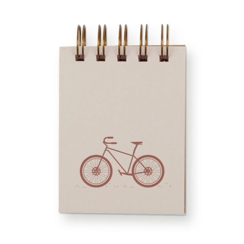 Bike Mini Notebook
