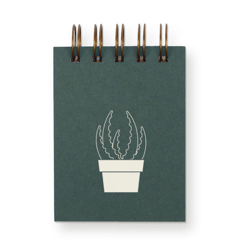 Succulent Mini Notebook