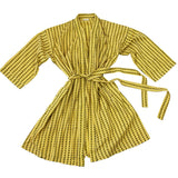 Block-printed Cotton Robe
