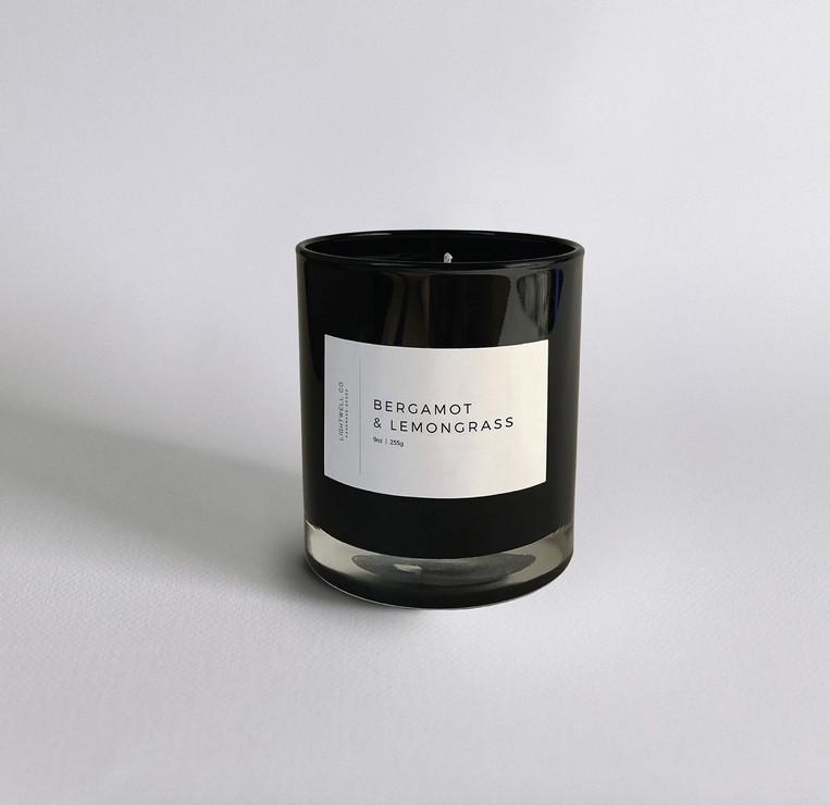 Lightwell Bergamot & Lemongrass Candle