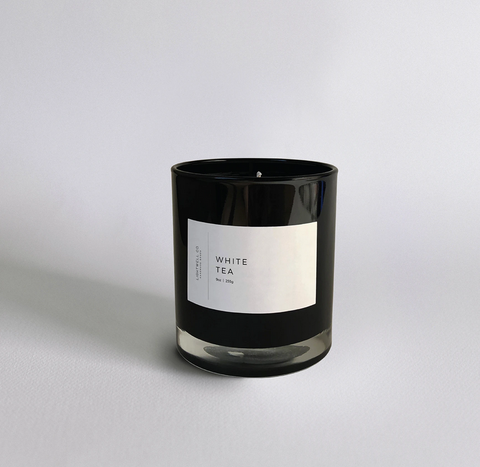 Lightwell White Tea Candle