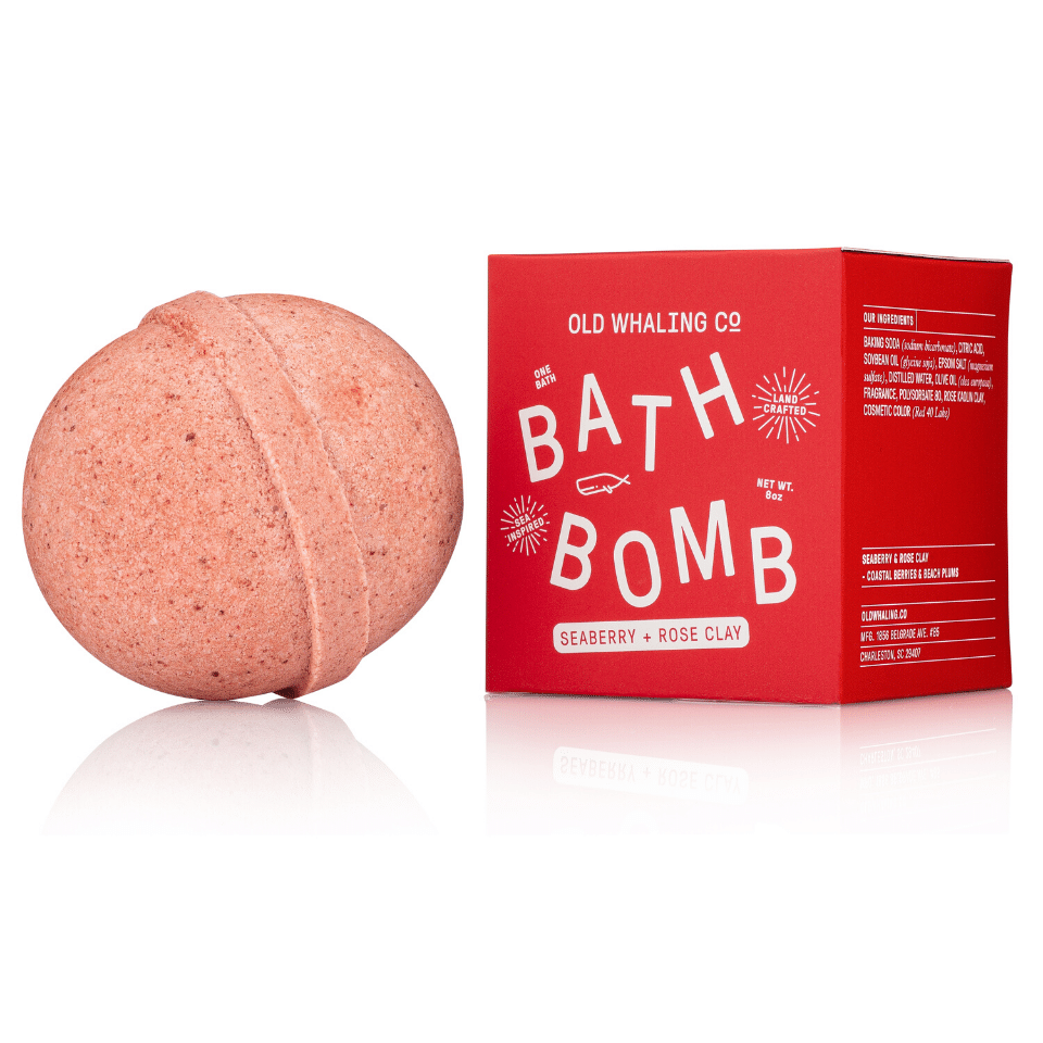 Bath Bomb - Seaberry + Rose Clay
