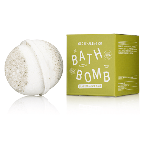 Bath Bomb - Seaweed + Sea Salt
