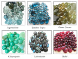 Tasi Designs Gemstone Options