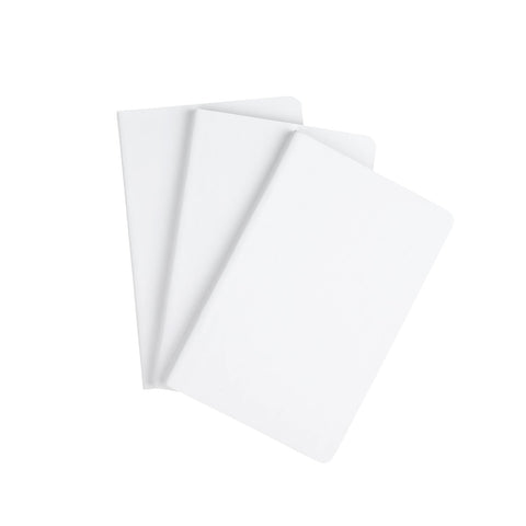 Blackwing Set of 3 Mini Notebooks in White