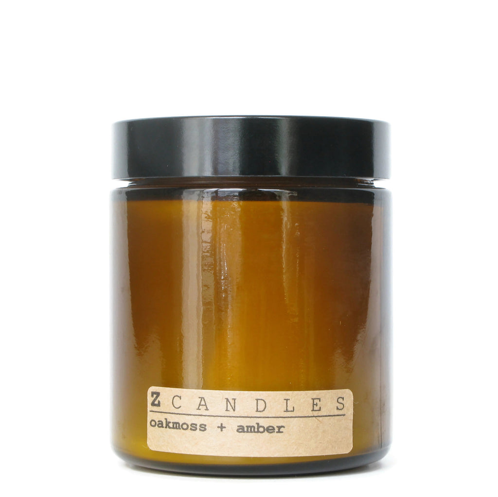Oakmoss & Amber Z Candle