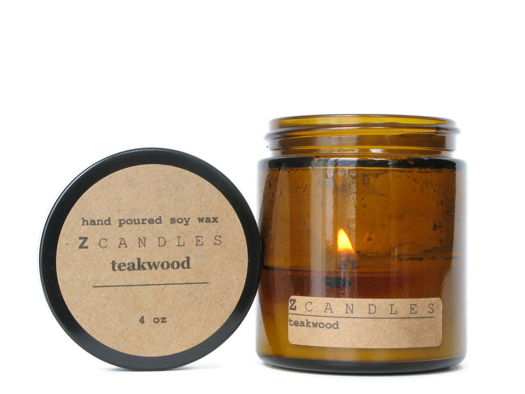 Teakwood Z Candle