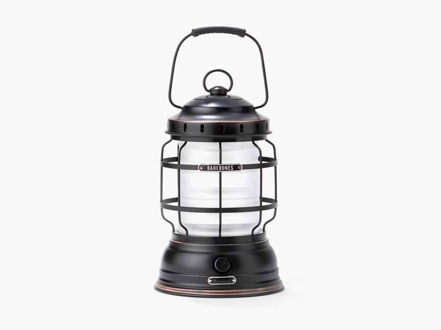Rechargeable Antique Bronze Lantern