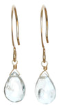 TASI DESIGNS, gold, earrings, handmade jewelry, portland, aquamarine
