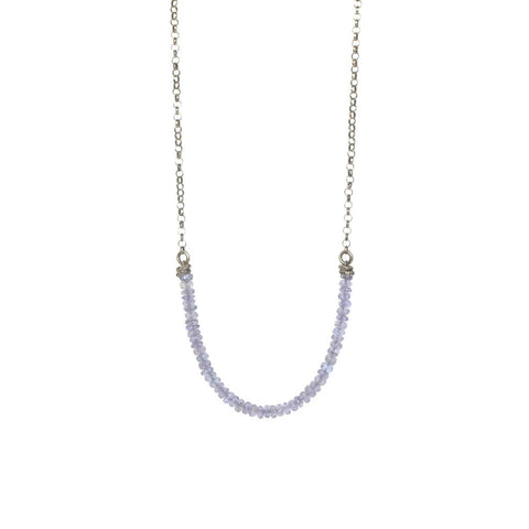 Tanzanite Strand Necklace