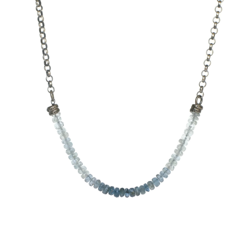 Ombre Santa Maria Aquamarine Necklace