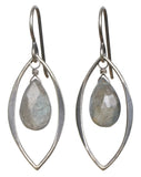 TASI DESIGNS, silver, earrings, handmade jewelry, portland, labradorite