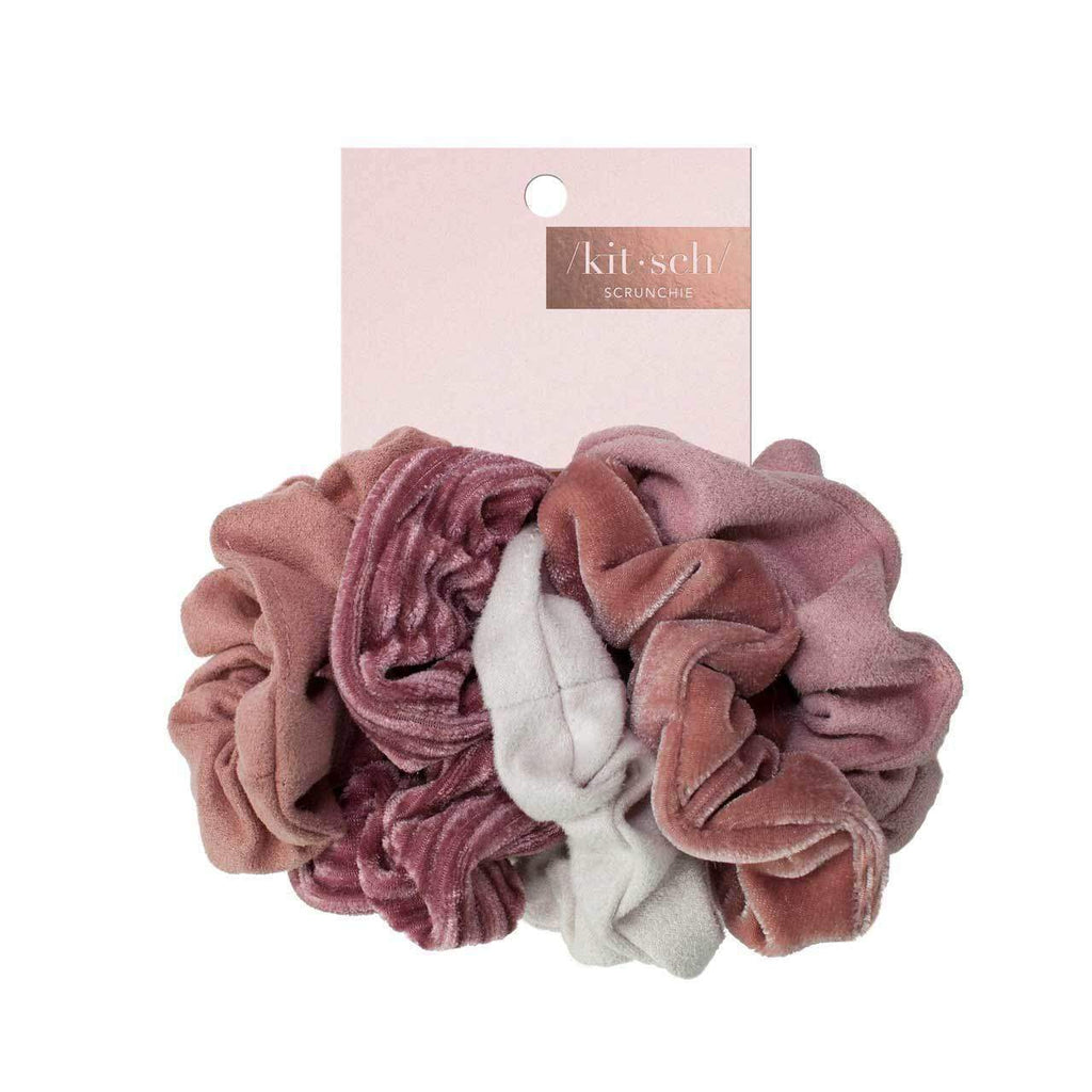 Velvet Scrunchies (5 pack)