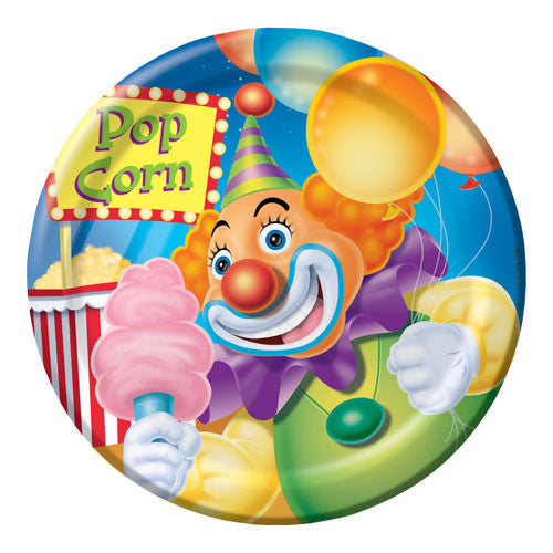 Big Top Birthday Luncheon Plates