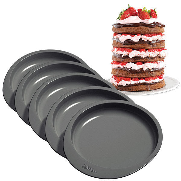 5 Layer Cake Pan Set