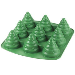3D Tree 9 Cavity Silicone Mould