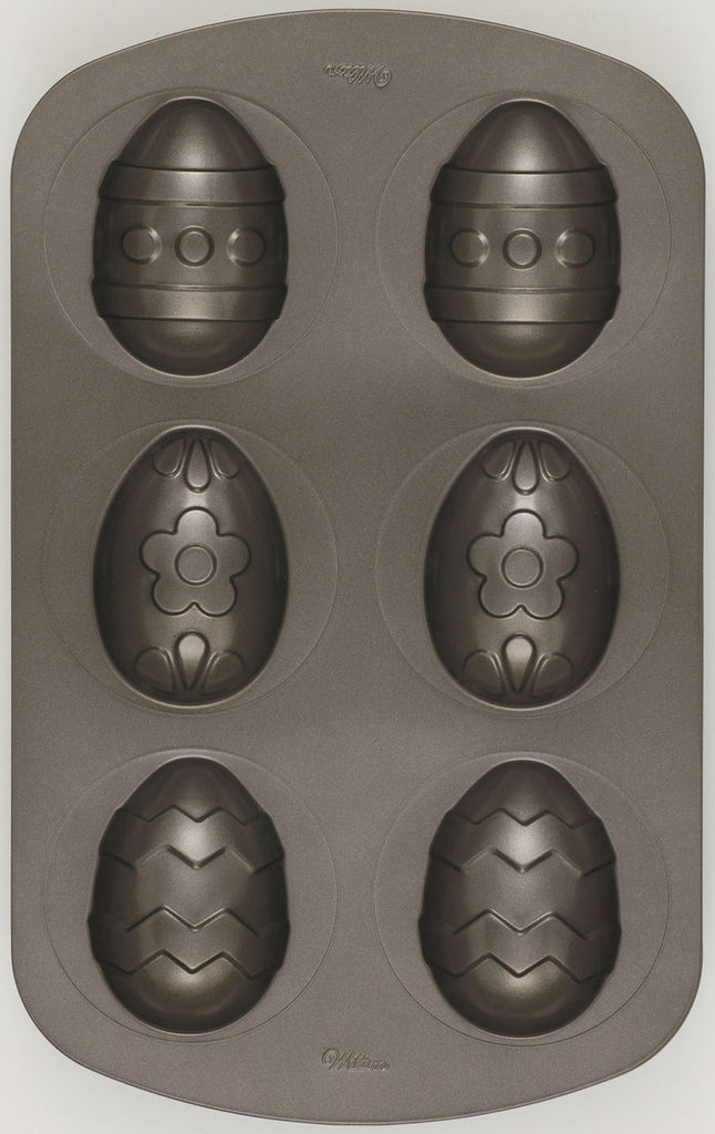 6 Pz Easter Egg Baking Pan