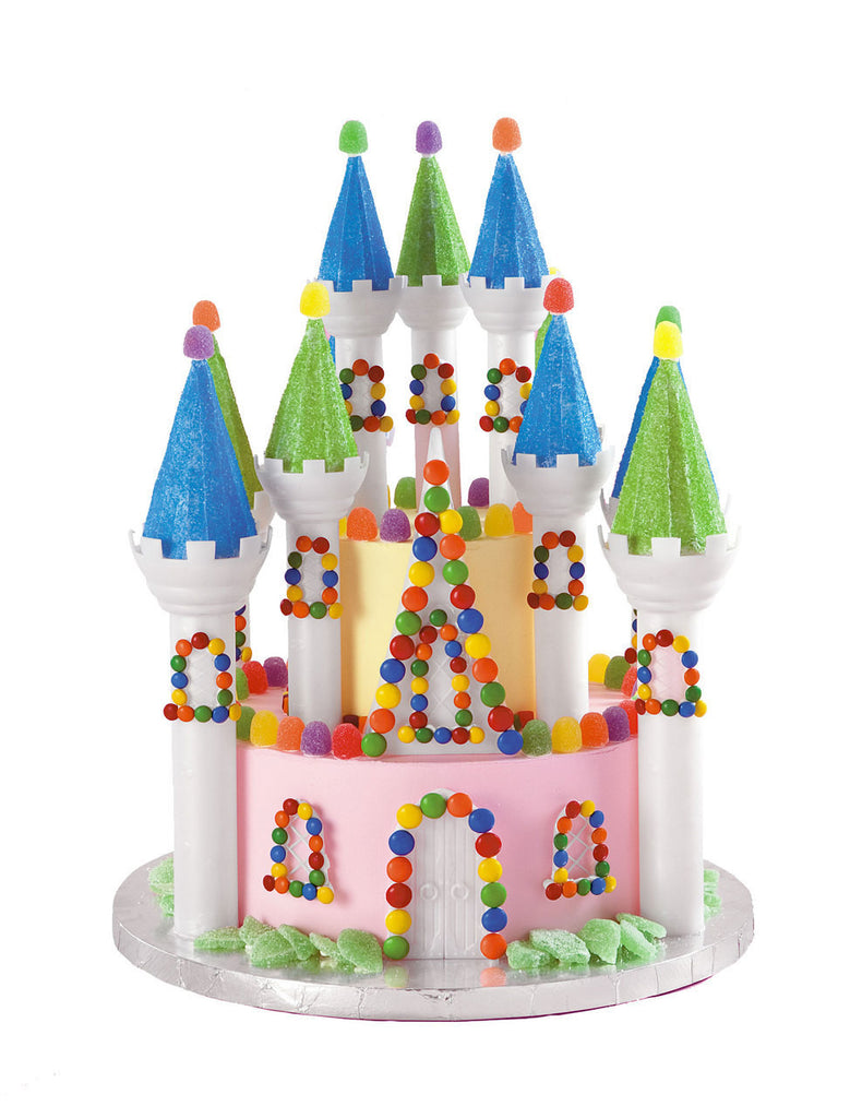 32Pc Romantic Castle Cake Pan