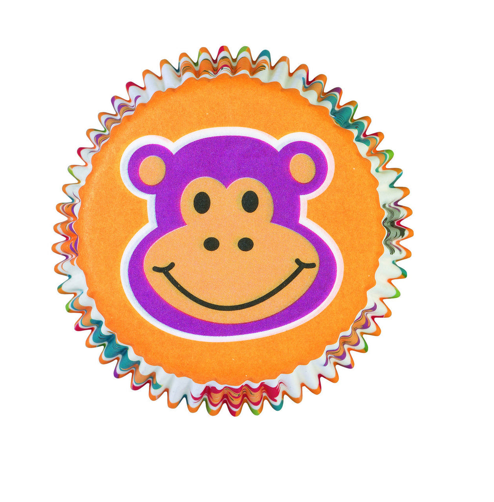 Jungle Animals Std Baking Cups