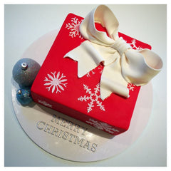 12th December Decorating Class: Beginners Square Christmas Cake